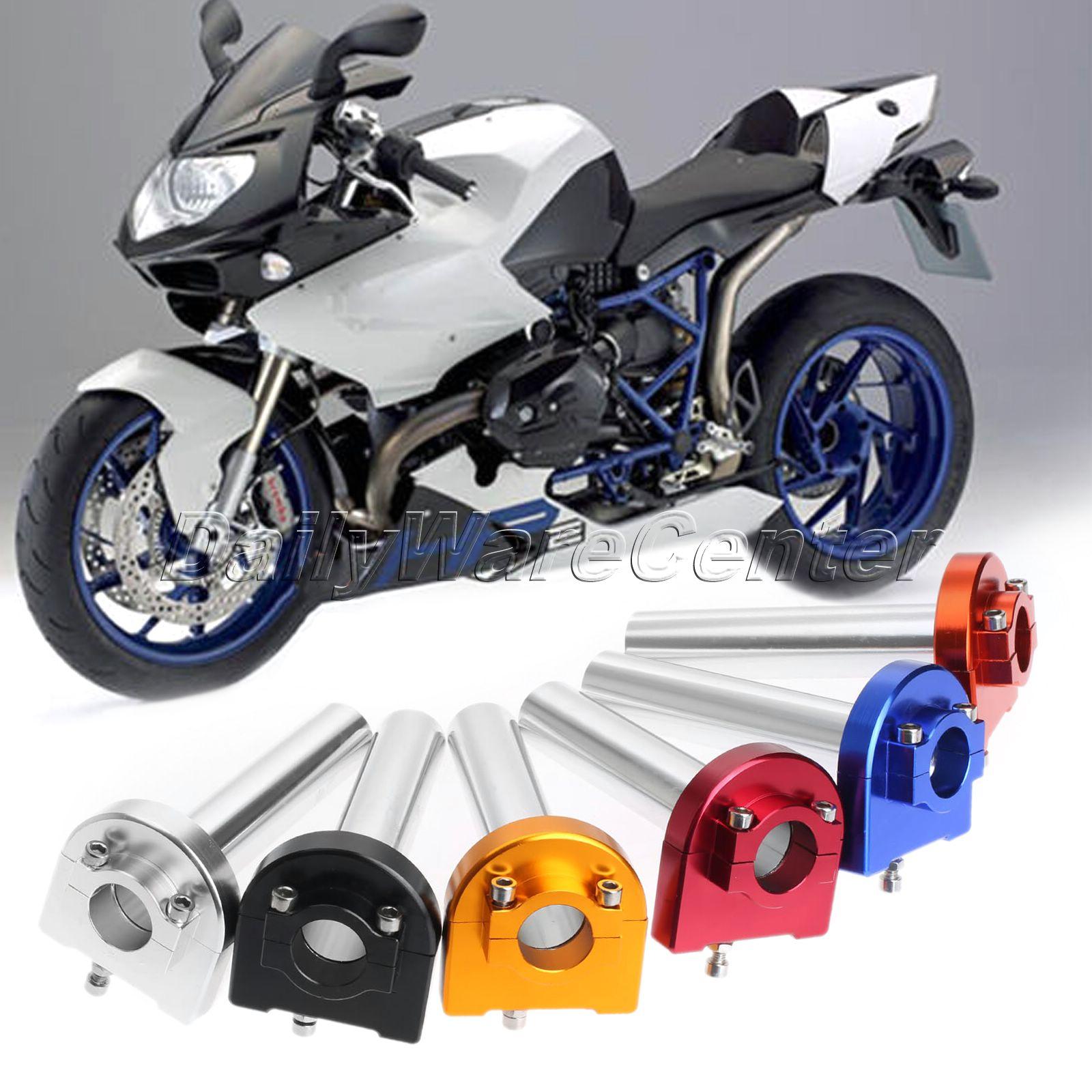"Universal CNC Aluminum 7/8"" 22mm Hand Grips Handlebar Throttle Tube Lever Control for HONDA SPORT Motocross DIRT BIKE SCOOTERS(China (Mainland))"