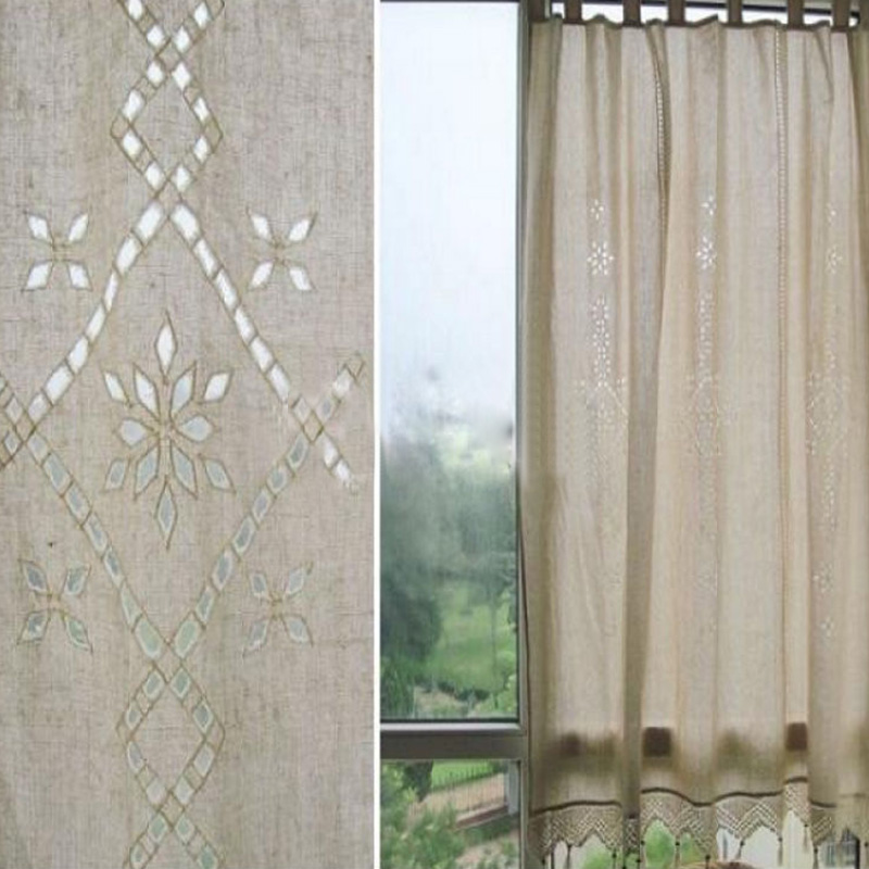 Exquisite Nordic Wind Country Fluid Systems Crochet Hollow