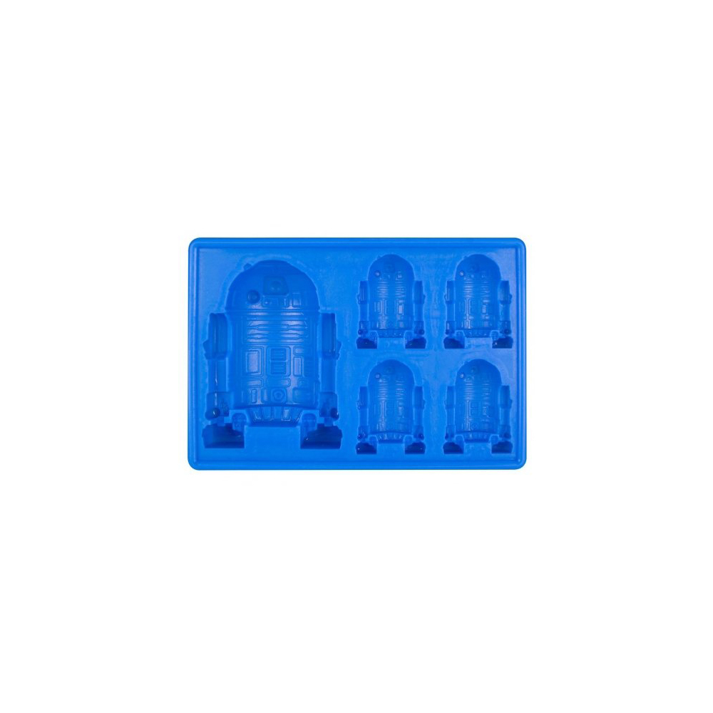 Silicone Popular Star Wars Cool Ice Cube Tray Mold Cookie Soap Baking Mould DIY Star Wars Silicon Tray R2-D2(China (Mainland))