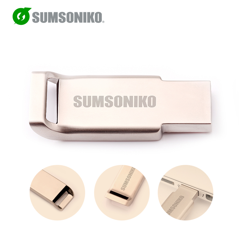 SUMSONIKO USB Flash Drive Creative USB 2.0 Flash Memory Stick Gift USB Key Flash Pen Drive 64GB 32GB 16GB 8GB 4GB 2GB Can Track(China (Mainland))