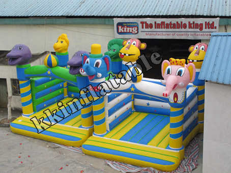 party bouncer inflatable animal jumper for kids(China (Mainland))