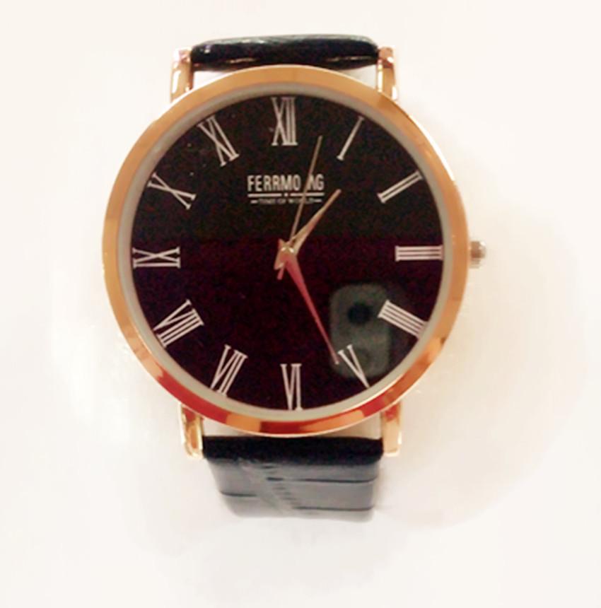 2015 top brand wristwatches Korean fashion simple men women slim UP leisure business gift table relogio feminino(China (Mainland))