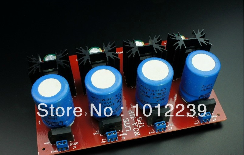 Assembled TP5 4 high-current power supply board 5-35V 5A adjustable current(China (Mainland))