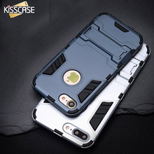 Buy KISSCASE Cool Armor Case iPhone 6 6s 7 Plus Hybrid Shockproof Phone Cases iPhone 7 6 6s Plus Anti-knock Back Cover Coque for $3.49 in AliExpress store