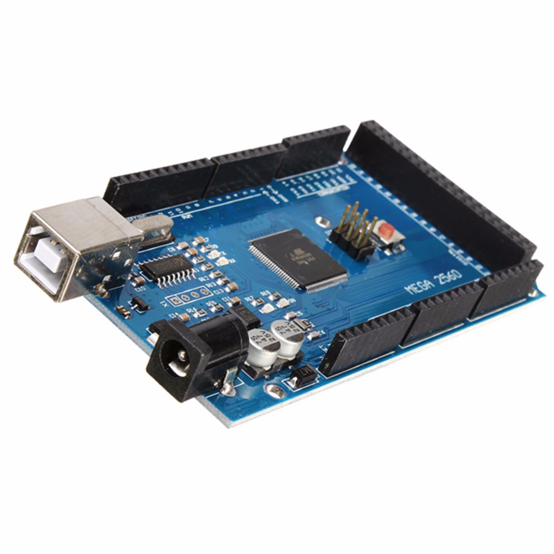 Best Promotion Mega2560 R3 ATMEGA2560-16AU + CN340 Board With USB For Arduino New Electric Unit(China (Mainland))