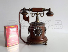 Old vintage telephone model European broadcast telephone round bottom furnishing articles Telephone lighters(China (Mainland))