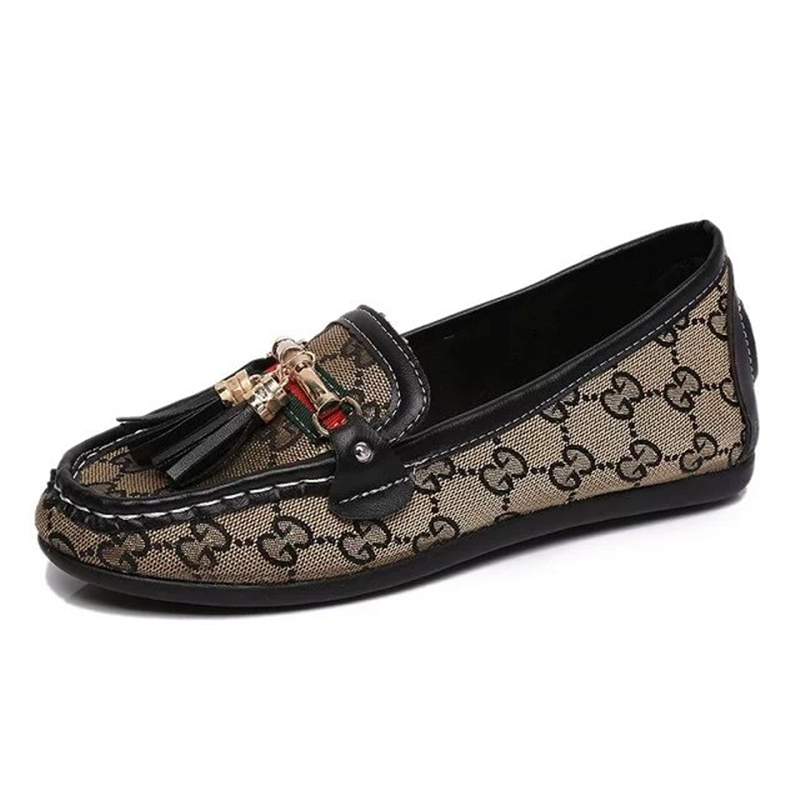 2016 British Style tassel close lace toe women hot shoes fashion slip on soft sole woman outdoor casual flats(China (Mainland))