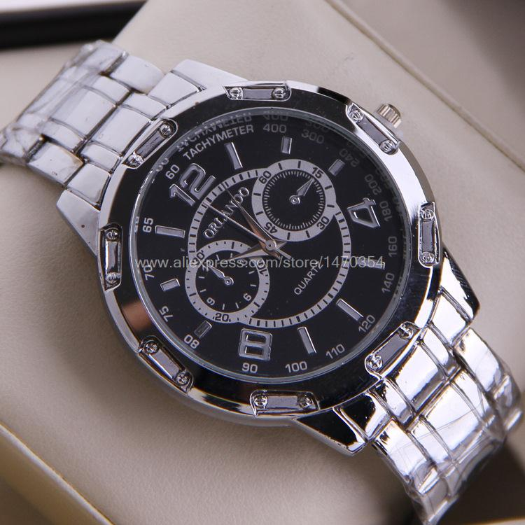 Supply steel watch fashion steel watch business gift table factory direct 113 038(China (Mainland))