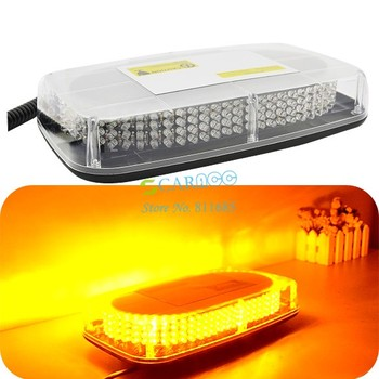 Newest 240 LED Yellow Magnetic Roof Top Car Truck LED Emergency Hazard Warning Light 14068 SV16