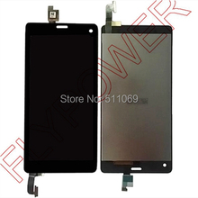 For ZTE Nubia Z7 Mini NX507J LCD Screen Display with Touch Screen Digitizer Assembly by free shipping; Black color; HQ