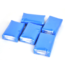 5pcs 150g Magic Car truck Clean Clay Bar Auto Detailing Cleaner Car Washer Blue(China (Mainland))