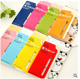 / NEW cartoon stand Notepad sticky note Memo message post Removable adhesive paper ,QQ001 - Vifa (mamufacturer store baby&bride headwear Center)