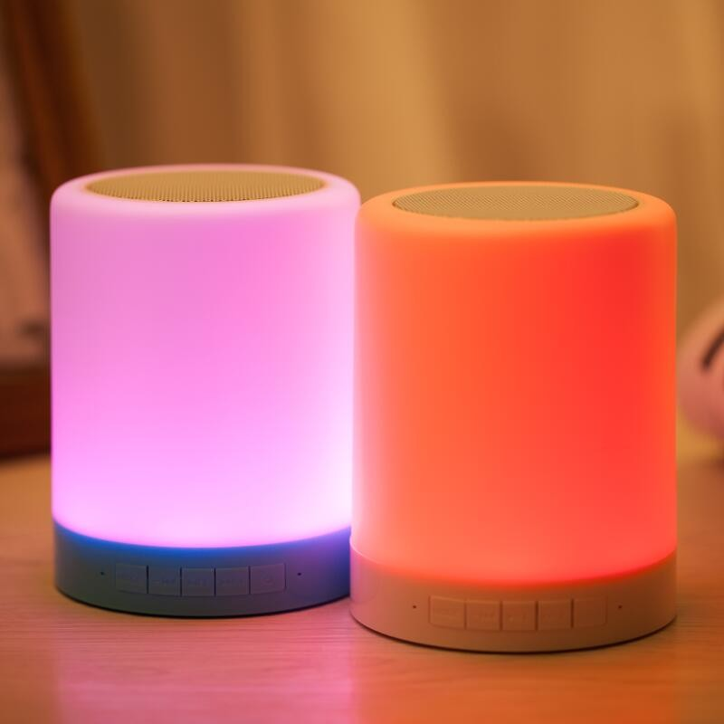 LED lamp Bluetooth speaker (11)