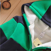Baby Sports Suit Jacket Sweater Coat Pants Thicken Kids Clothes Set 2015 Hot Sell Boys Girls