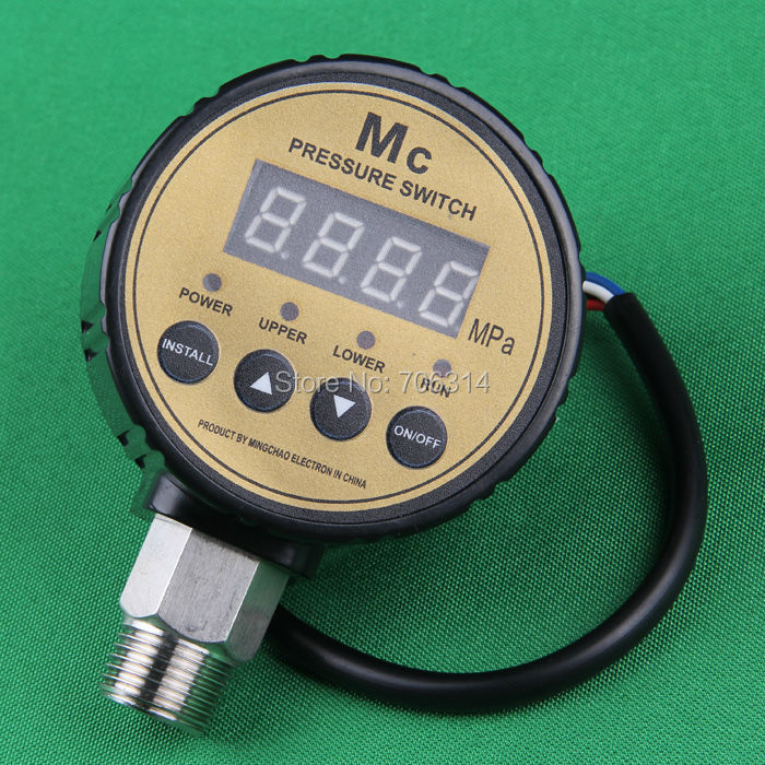 """0-16KG(0-1.6MPA)Digital pressure controller.High quality G4"""" Connecting electric digital switch.(China (Mainland))"""