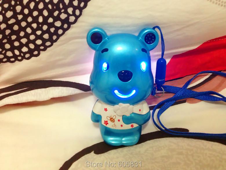 Free Shipping 2015 New Unlocked special design bear Cartoon Mobile phone Fashion cheap kids dual sim Russian keyboard cell phone(China (Mainland))