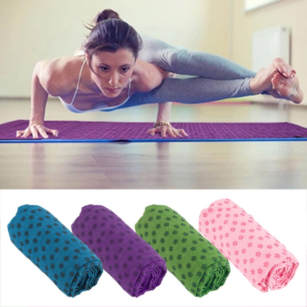 Гаджет  Soft Travel Sport Fitness Exercise Yoga Pilates Mat Cover Towel Blanket Free Shipping None Спорт и развлечения