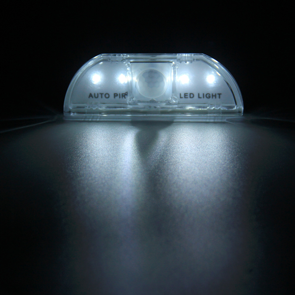 High QualityPIR Wireless Home Door Keyhole Light Lamp Motion Sensor Detector LED Light 4 Leds Led Sensor Motion Lamp Night Light(China (Mainland))