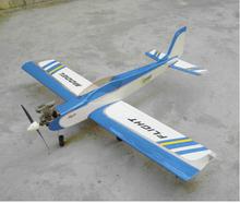 Retail & Wholesale China RC Models Remote Control Exercise Machine Calmato Sport-40 F068 Nitro Trainer RC Airplane(China (Mainland))