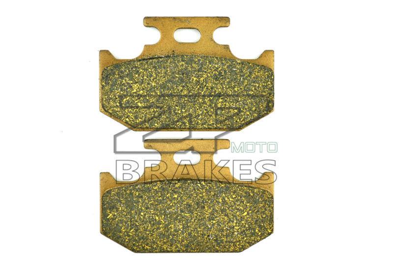 BIKE New Brake Pads Organic Fit Rear KAWASAKI KX 500 E1-5 1989-1993,KDX 200 H1-H2 1995-1999 OEM BRAKING Free Shipping(China (Mainland))