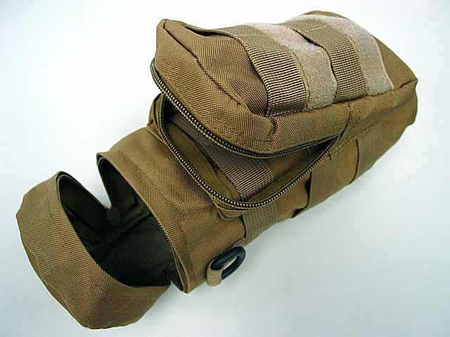 sports water bag Molle Water Bottle Utility Medic Pouch Coyote Brown<br><br>Aliexpress