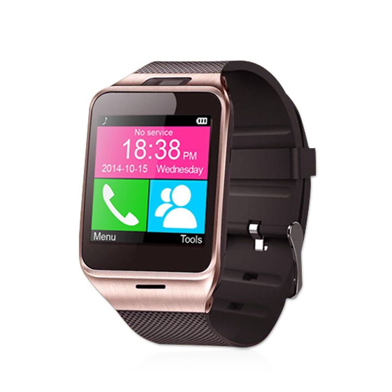 Smartwatch Gv18 Bluetooth Health Mp3 Waterproof Pedometer Wearable Device With SIM Card Mobile GSM Android Smart Watch Phone(China (Mainland))