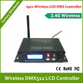DHL Free Shipping 16groups ID coding LCD DMX512 wireless receiver transmitter