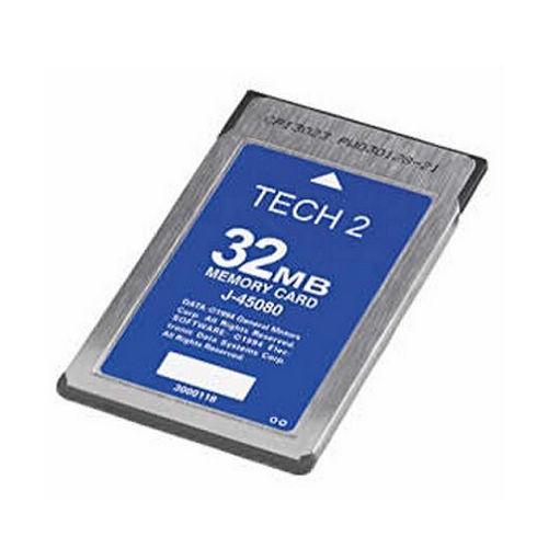 Carcode Tech2 memory card Vetronix tech2 software GMtech 2 32mb card for ISUZU, for suzuki, opel, saab, holden, GMcard(China (Mainland))