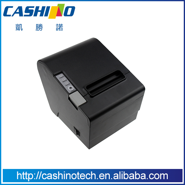 CE certification POS Desktop 80mm RS232/USB/LAN Port Thermal Receipt Printer for Win7(China (Mainland))