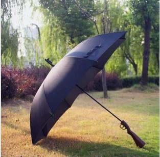 Free Shipping Cool RIfle Umbrella Rain and Parasol men Umbrella AS Gifts Protection Windproof Folding guarda chuva Umbrellas(China (Mainland))