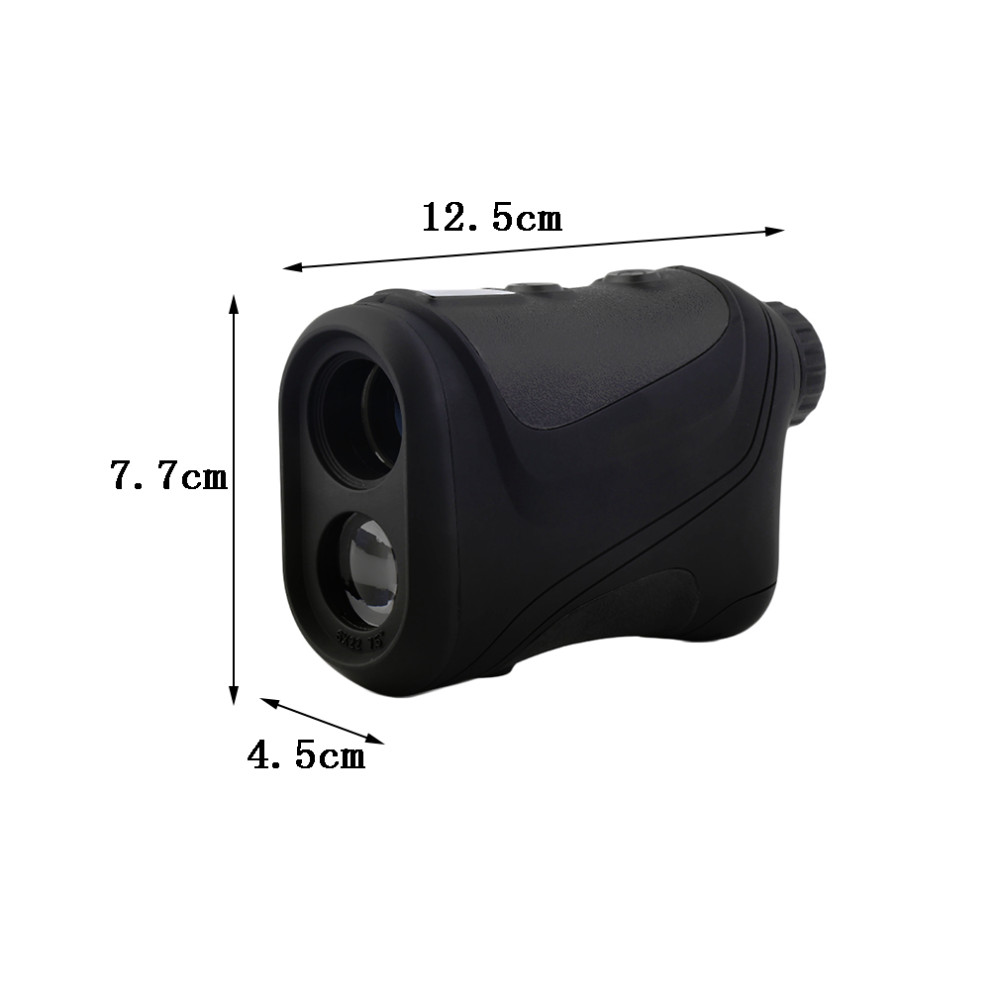 2016 New Arrival 6x22mm Multifunction Laser Vary Finder Telescope 600m Searching Golf Distance Present