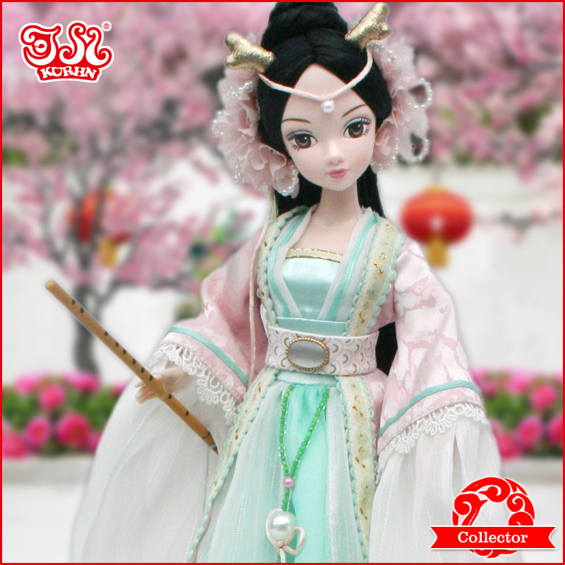 Chinese Princess Doll Dragon Princess high-end collection best gift #9059(China (Mainland))