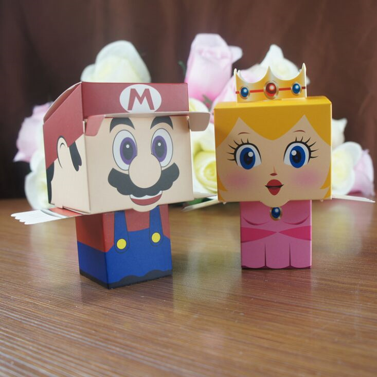 50pcs cartoon Super Bros Princess Peach Bride and Groom wedding favors candy box wedding Party gift Bags Baby show Boxes - 50pcs-cartoon-Super-Bros-Princess-Peach-Bride-and-Groom-wedding-favors-candy-box-wedding-Party-font