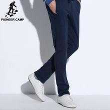 Pioneer Camp прямые повседневные брюки мужчины новая мода мужской брюки марка одежды верхнего качества хлопка удобные брюки 505105 М(China (Mainland))