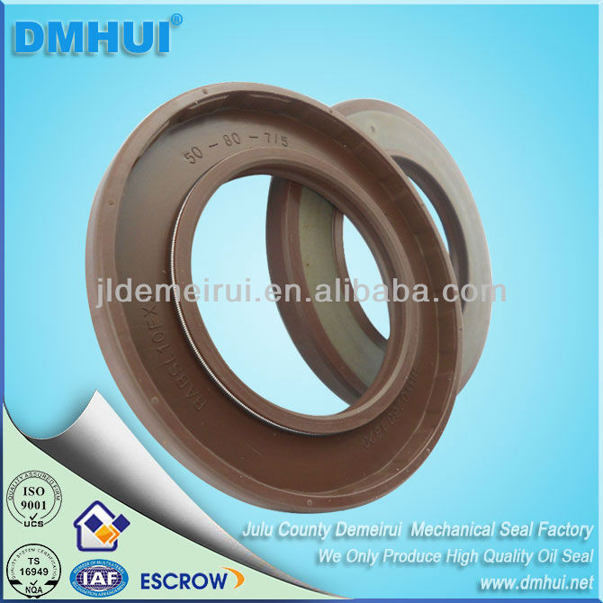 Rubber hydraulic pump oil seal 50*80*7/5 Used For Pump A4V(T)G90 VITON/FKM rubber BAFSL1SF type DMHUI brand(China (Mainland))