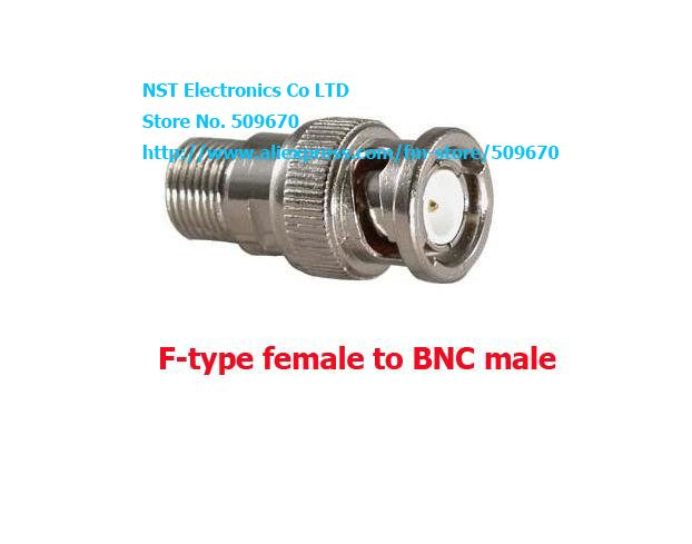 Free Shipping /25pcs/ F-type female to BNC male coax cable connector adaptor Coaxial Connector CCTV(China (Mainland))
