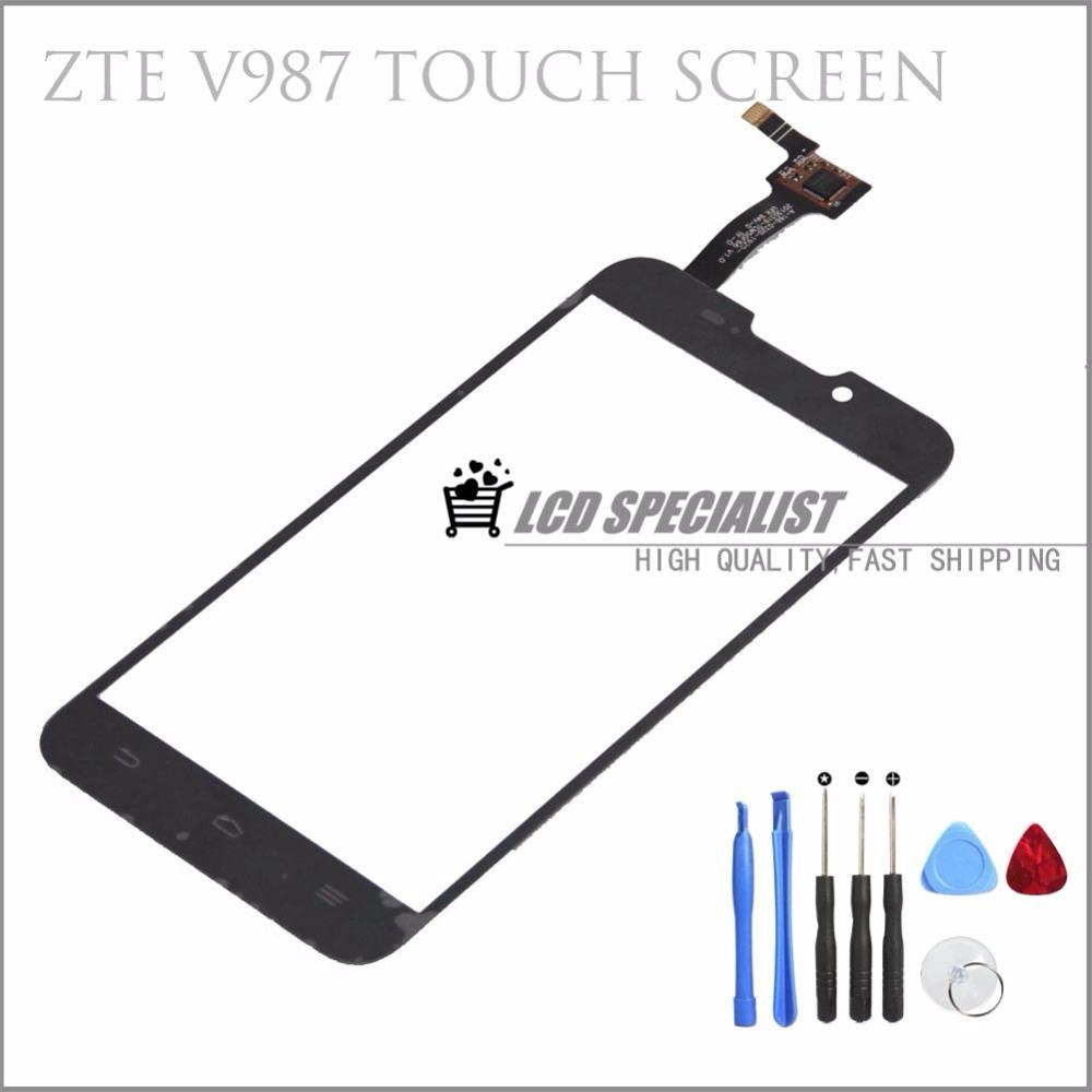Original Touch Screen Digitizer Glass Sensors For ZTE Grand X Quad V987