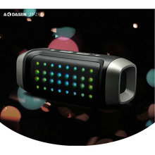 Wireless bluetooth speaker JY-23A with LED with TF USB Slot Stereo Louderspeaker Soundbox Support FM Radio for Iphone Computer