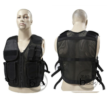 US special forces tactical vest CS combat training military fan protective equipment outdoor mesh / breathable - gear supplies store