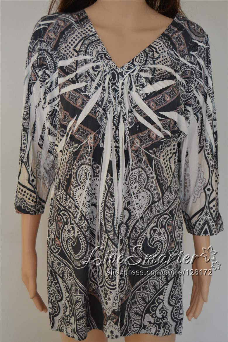 traditional clothing tribal wear totem print