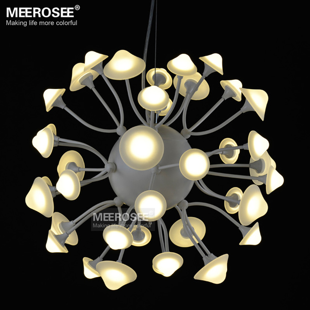 creative personality led chandelier lamp round ball lights. Black Bedroom Furniture Sets. Home Design Ideas