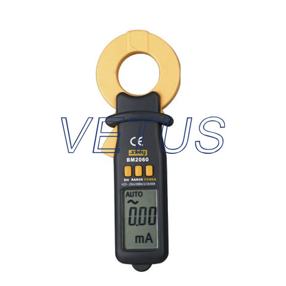 BM2060 digital micro electric current (leakage current) clamp ampere meter / 20 mA ~ 60 A<br><br>Aliexpress