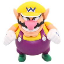 Super Mario World Game figures Super Mario PVC Action Figure Game Figures Wario 12cm Kid toys Collection Doll RETIAL BOX JK-0034