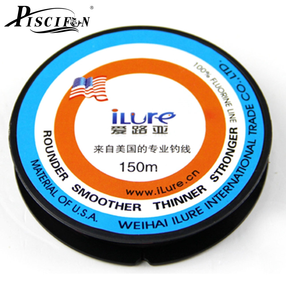 Piscifun 150m Fluorocarbon Line Transparent Carp Wire Winter Ice Fishing Lines Super Stronger Monofilament Japan Fishing Line(China (Mainland))