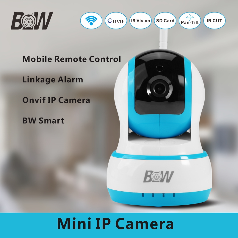 Special Offer System Camera IP ONVIF 720P HD Security Camera System Surveillance Video Wifi CCTV Mobile Remote Control BW013B(China (Mainland))