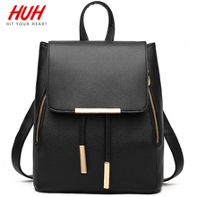 Hit Your Heart Hot Fashion Women Backpack Good Quality School Backpacks For Teenage Girls Women Leather Backpack Mochila C0048S(China (Mainland))