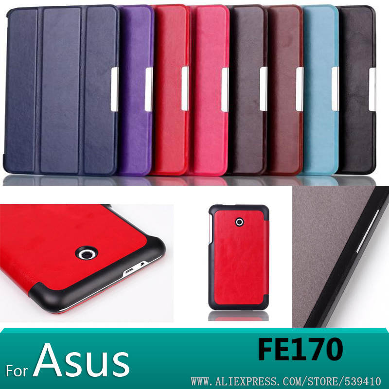 Top quality Magnet pu leather case cover For Asus FonePad 7 FE170CG FE170 K012 tablet cases