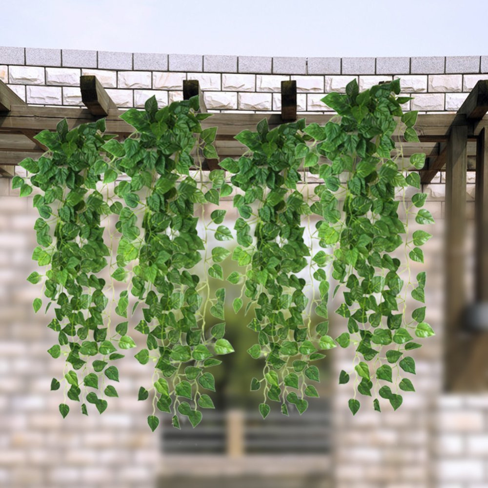 Garden Design With Aliexpress.com : Buy Pcs Artificial Fake Hanging Vine  Plant With How
