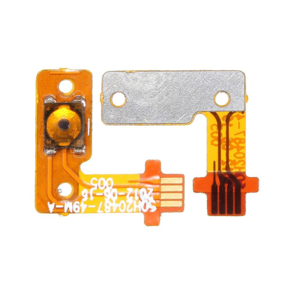 Free Shipping Power on/off Switch Button Connector Flex Cable Sensor For HTC 8X(China (Mainland))