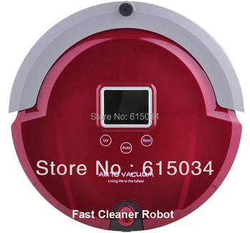 2015 newest  Smart robot clever vacuum cleaner,UV lamp,Speed adjustment,Remote Controller,Anti-falling, updated from A325